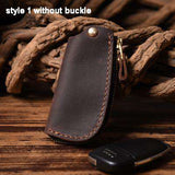 Genuine Leather Car key holder wallet Keychain Wallet