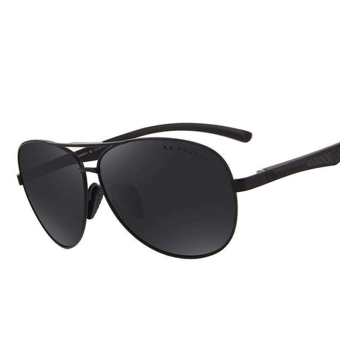 Pilot HD Mirror Polarised UV400 Sunglasses