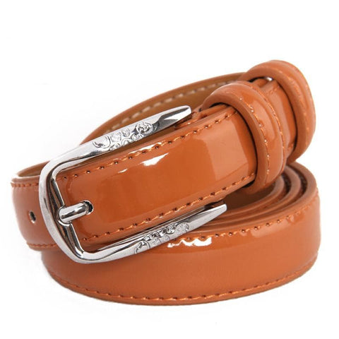 Genuine Leather Metal Pin Buckle Belts