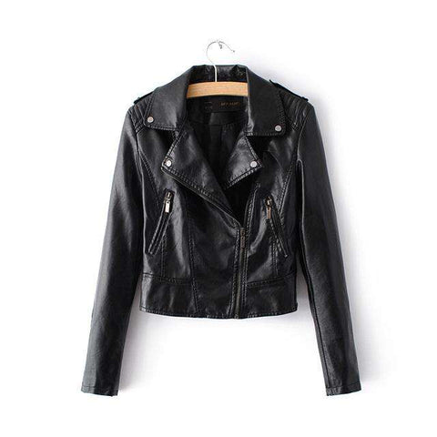 Faux Soft Leather Jackets - WS-Jackets