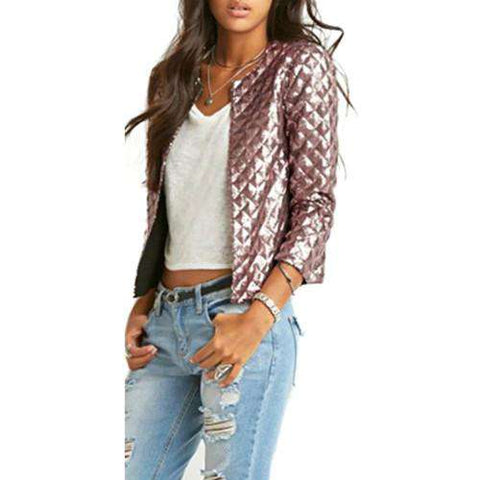 Lozenge Sequins Jacket - WS-Jackets