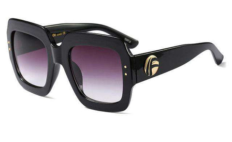 Luxury Oversized Square Sunglasses - Wear.Style