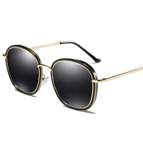 Round Polarised Vintage Oversized Luxury Designer HD UV400 Sunglasses
