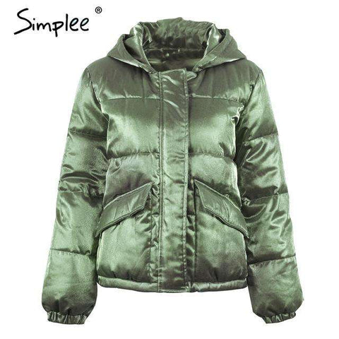 Padded Parka Winter Jacket - WS-Jackets