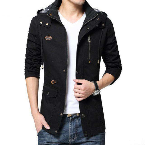 100% Cotton Removable Hooded Jackets - WS-Jackets