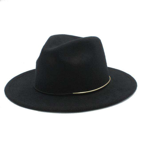 Wool Wide Brim Jazz Hat