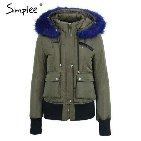 Hood Padded Parka Jacket - WS-Jackets