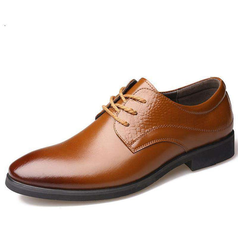Luxury Handmade Oxfords High Quality Pointed Toe Casual Leather Shoes