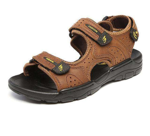 Leisure High Quality Genuine Leather Sandals