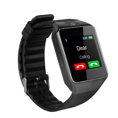 Bluetooth Smartwatch TF SIM Card Camera for iPhone Samsung HTC LG HUAWEI Android Phone