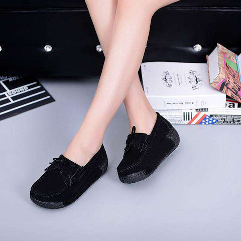 Elegant Suede Casual Shoes