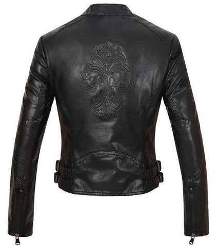 Shining Faux Leather Jackets - Wear.Style