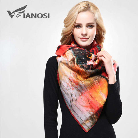 Designer Luxury Printed Scarf - Wear.Style