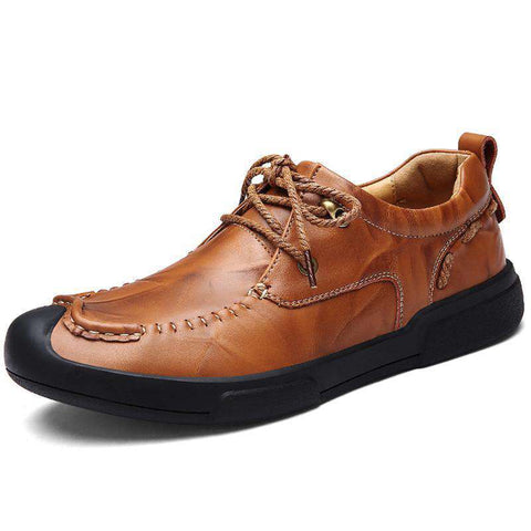 Genuine Leather Breathable Casual Shoes