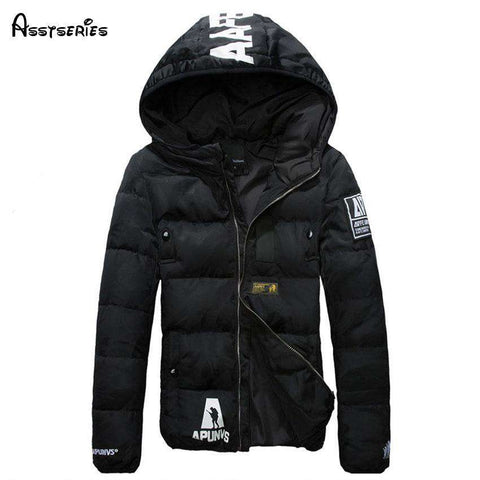 Short DownSlim Thickened Hooded Jacket - Wear.Style
