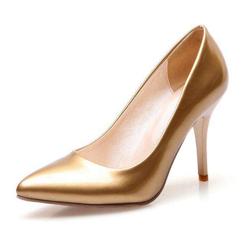 Party Gold Shoes - Wear.Style