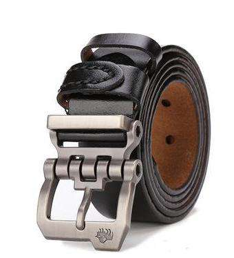 Genuine Leather Personality Buckle Quality Belt