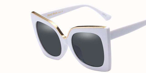 Cat Eye Designer Big Frame High Quality Sunglasses