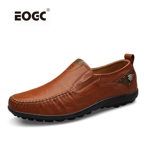 Handmade Genuine Leather Casual Loafers - Wear.Style