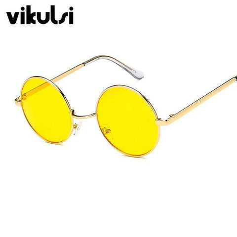 Candy Coloured Round Sun Glasses - Wear.Style