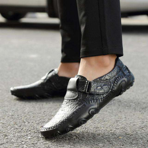 Handmade Real Leather Casual Luxury Loafers - Wear.Style