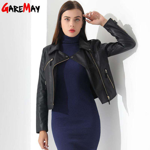 Short Leather Jacket - Wear.Style