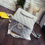 Leather Luxury Plaid Embossed Shoulder Bag