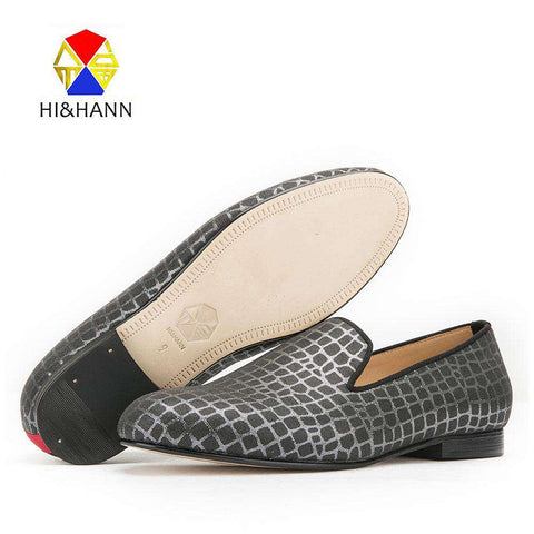 Checkered Print Loafers for Men - Wear.Style