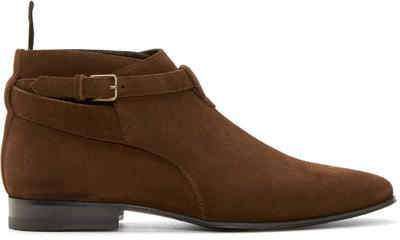 Pointed Toe Men Ankle Boots - Wear.Style