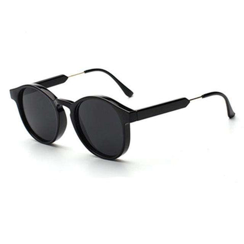 Retro Round Unisex Metal Frame Stylish Eyewear - Wear.Style