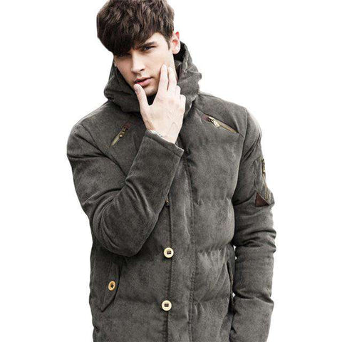Hooded Thermal Down Jacket - WS-Jackets