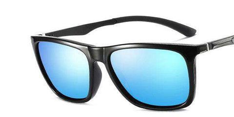Retro Square Aluminum Sun Protection Polarised Sunglasses