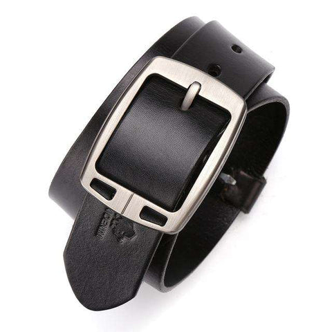 Genuine Leather Pin Buckle Accessories Belts
