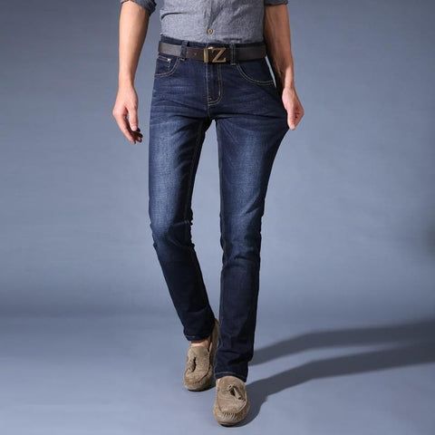 Stretch Soft Denim Designer Slim Fit Jeans