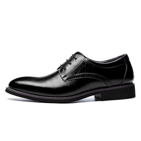 Leather Patent Leather Shoes