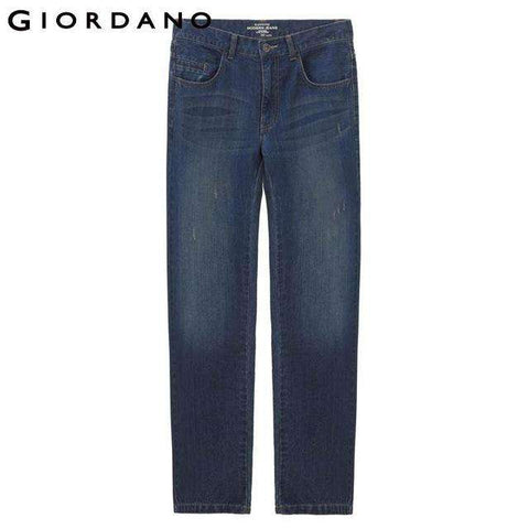 Cotton Slim Fit Blue Jeans