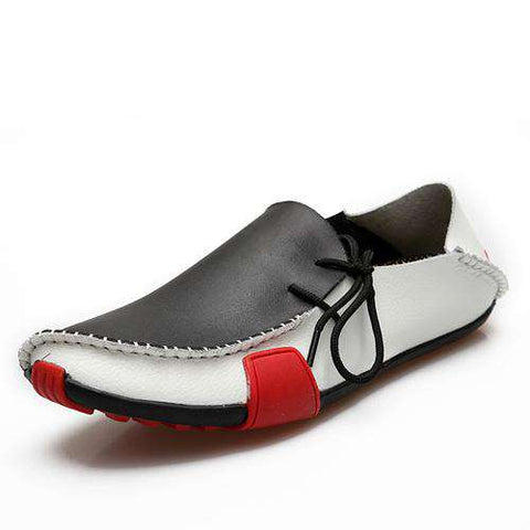 Leather Breathable Loafers