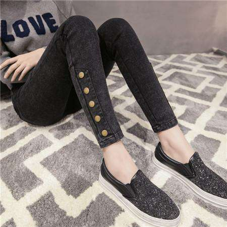 Pencil High Waist Sexy Slim Elastic Skinny Jeans - Wear.Style