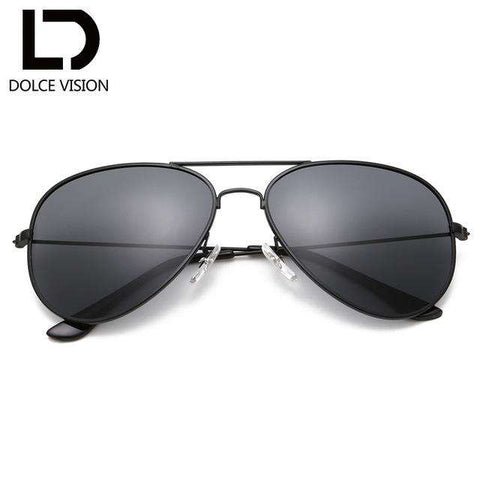 Polarised Pilot Mirror Lens Classical Sunglasses - Wear.Style