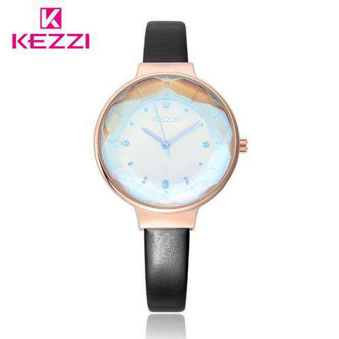 Waterproof Quartz Elegant Wrist Rose Red Women Watches