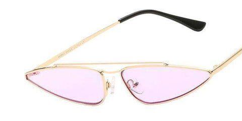 Small Frame Cat Eye Sunglasses