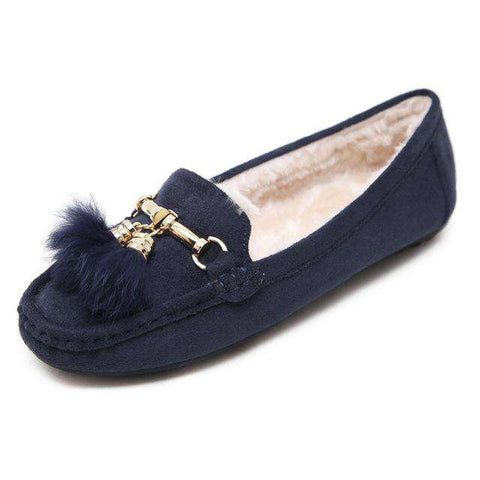 Warm Soft Fur Lined Slip-on