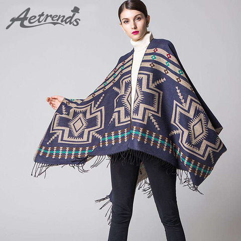 Ethnic Thick Scarf - Wear.Style