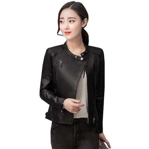 Faux Leather Jacket - WS-Jackets