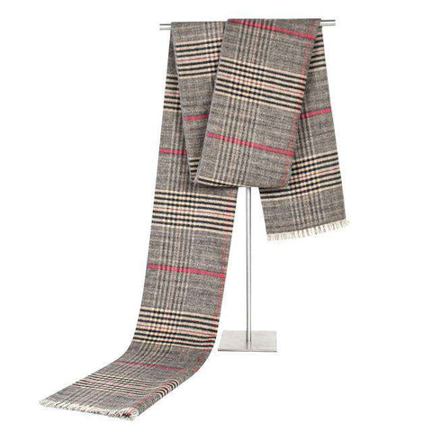 Plaid Soft Elegant Long Fashion Wrap Scarves