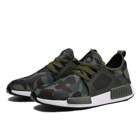 Casual Army Green Camouflage Shoes - Wear.Style