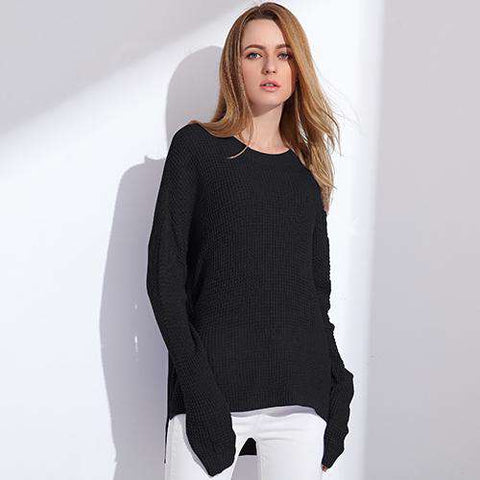 Long Sleeve Loose Pullover