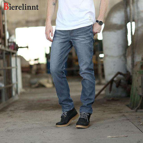 Good Quality Casual Straight Slim Cotton Jeans