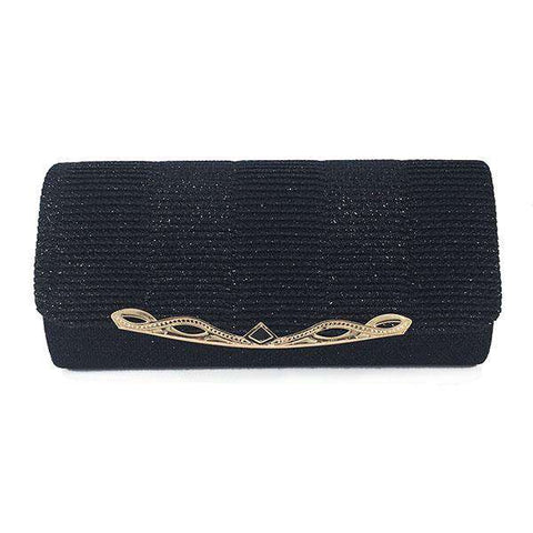 Shiny Clutch Bag With Chain - Wear.Style
