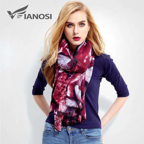 Luxury Printed Cotton Scarf